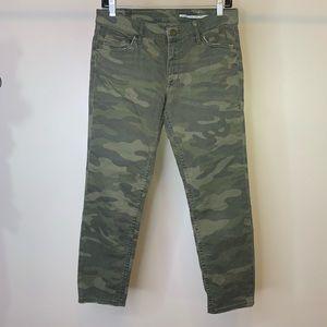 ZARA Women's Camo Skinny Ankle Jeans Size 4